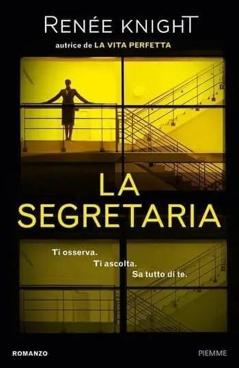 La-segretaria-cover La segretaria di Renée Knight Anteprime