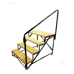 MOBILE HOME STEPS RV STEPS RAILS