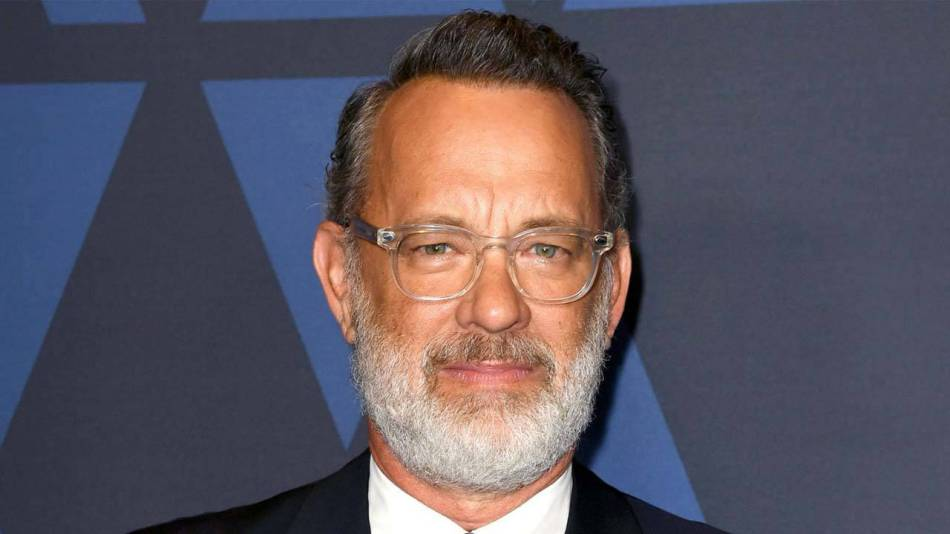 Nuovo look tom hanks