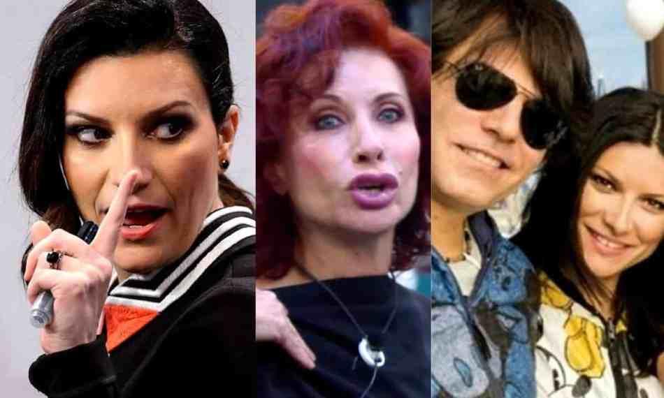 Gf Vip Alda D''Eusanio Laura Pausini denuncia squalifica parole gravi