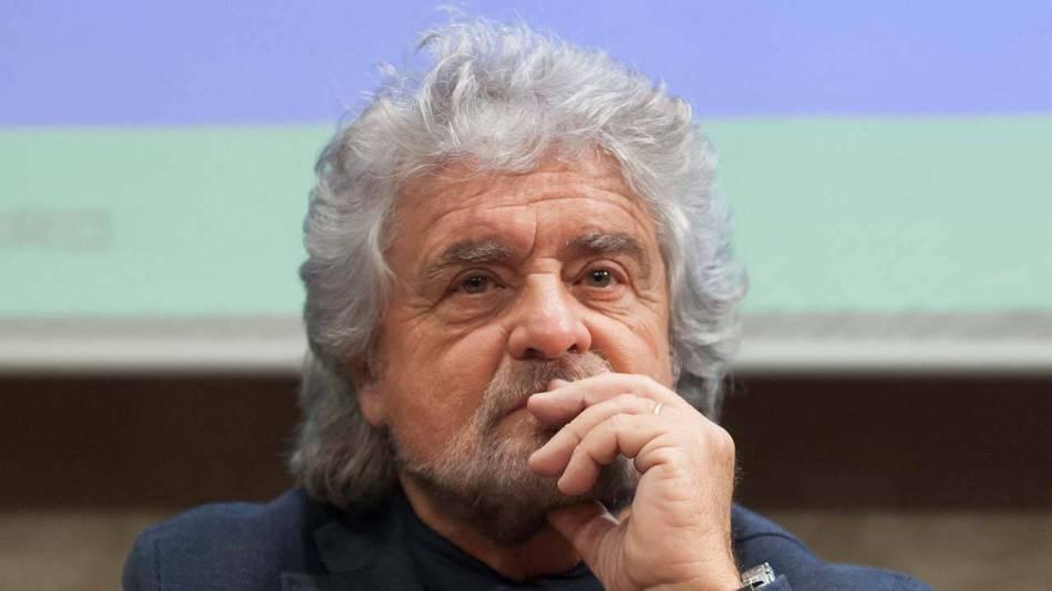 Beppe Grillo Cristina