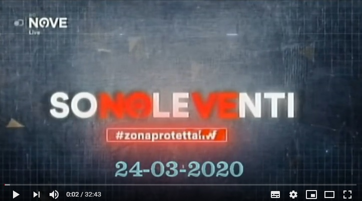 Rivedi Sono le Venti del 24 03 2020 – YouTube