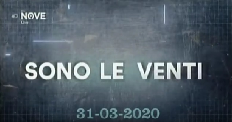 Rivedi Sono le Venti del 31 03 2020 – YouTube