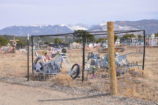 Llanos Cemetery, Truchas New Mexico