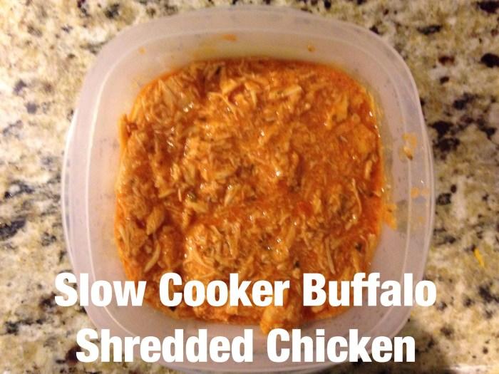 Buffalo Shredded Chicken