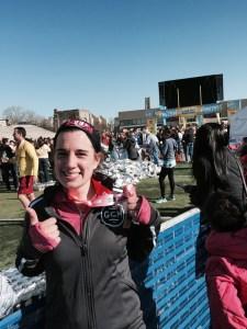 Glass CIty Half Marathon Finish