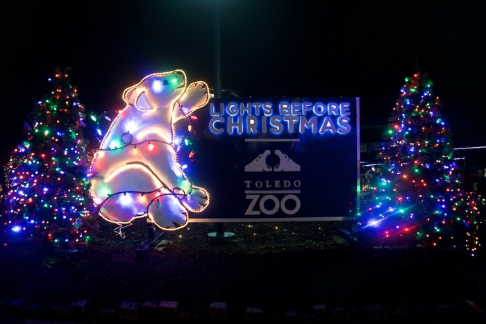 Lights Before Christmas at the Toledo Zoo