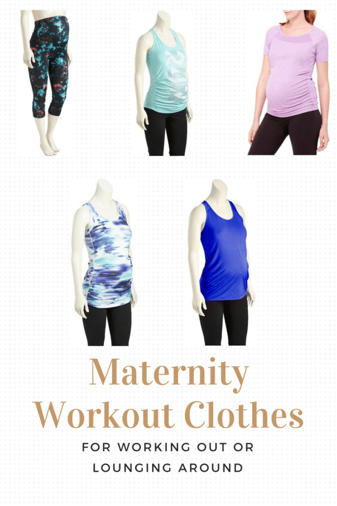 Maternity Workout Clothes