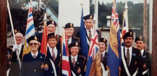 Group shot of Legion119 Executuve 1985