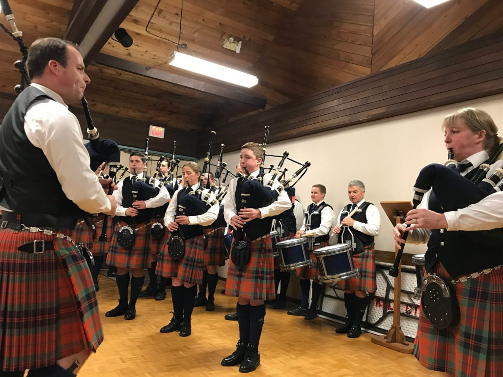 Legion 119 Pipers on Nov 11, 2019
