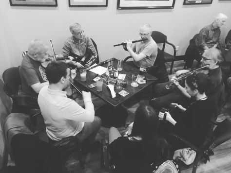 Irish music weekly at Legion 119