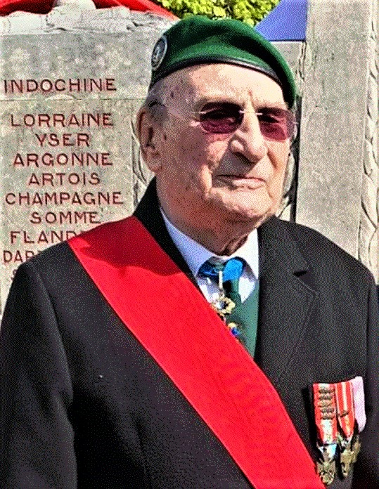 Décès du colonel (er) Jean Luciani - Cliquez