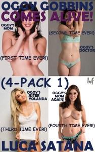 Oggy Gobbins Comes Alive: 4-Pack 1 (Episode 1-4)