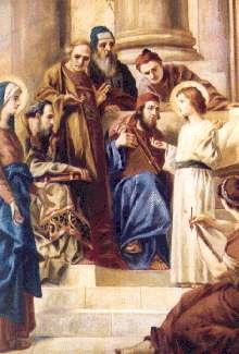 Fifth Joyfull Mystery of the Rosary - Finding in the Temple