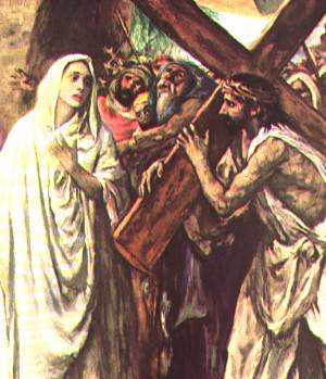 Fourth Sorrowfull Mystery of the Rosary - Carrying of the Cross