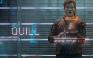 Star-Lord has a message for his critics...