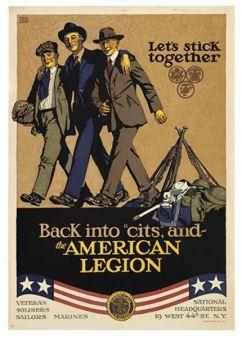 American Legion poster