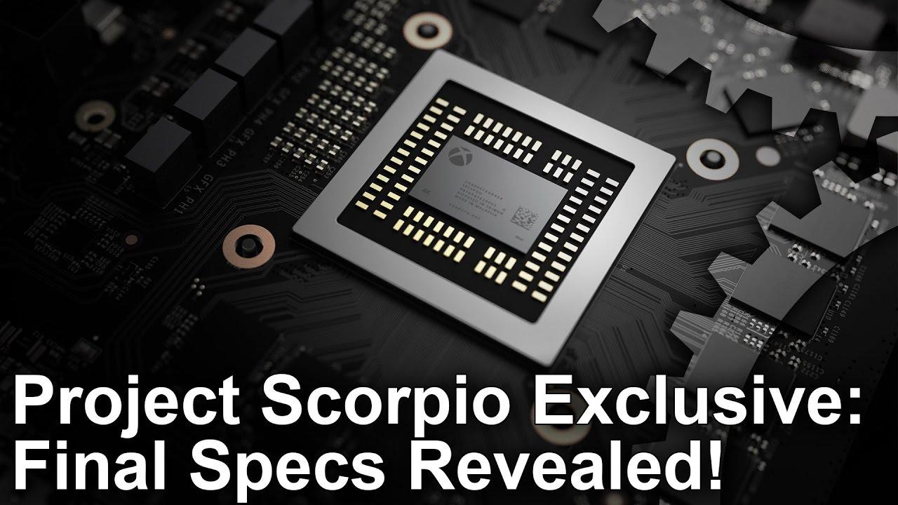 Project Scorpio Specs Revealed Packs 6 Teraflops Of
