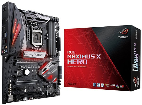 ASUS ROG Maximus X Hero Z370 Motherboard Review - Legit ...