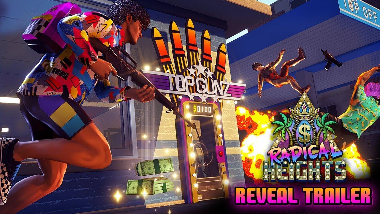 Radical Heights Battle Royale Shooter Lands On Steam