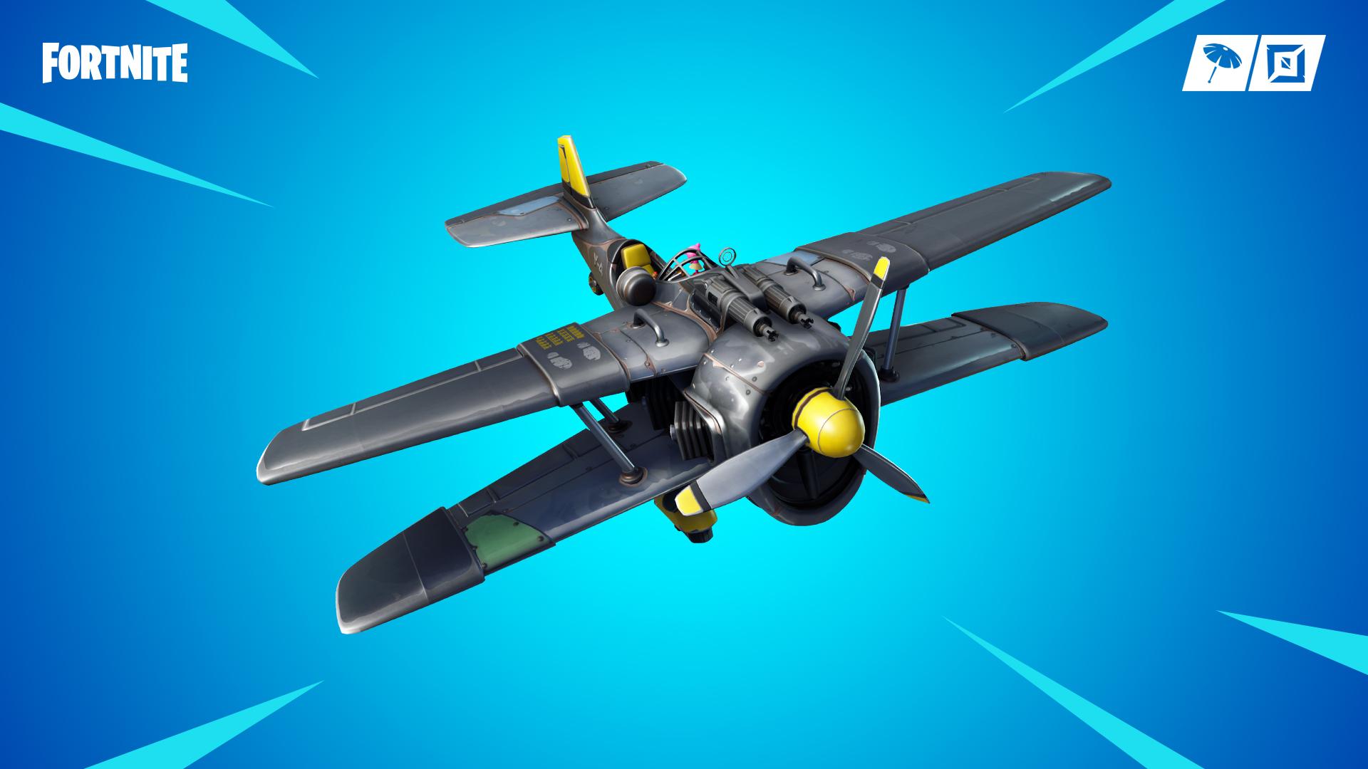Fortnite Season 7 Brings Stormwing Plane Wraps And More