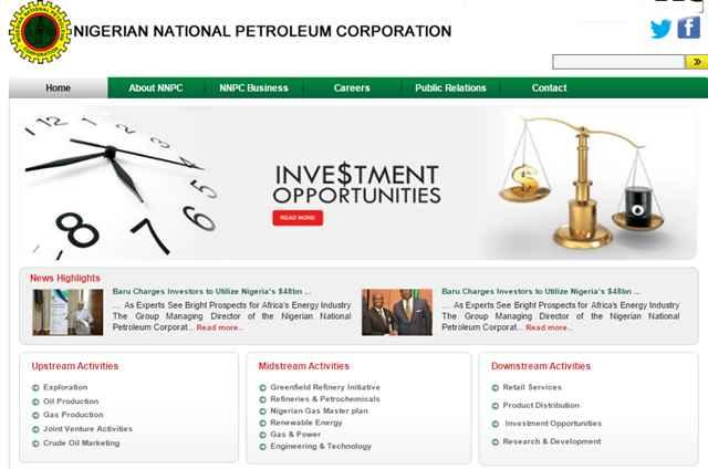 Application for Nigerian National Petroleum Corporation Job