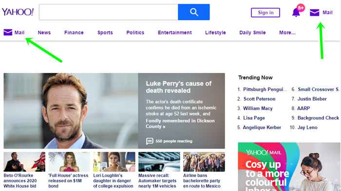 Yahoo Login For Email From Yahoo.com Sign In Page & Via Yahoomail App