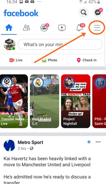 How To Change Name On Facebook Mobile App