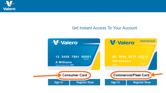 How To Apply For Valero Gas Card