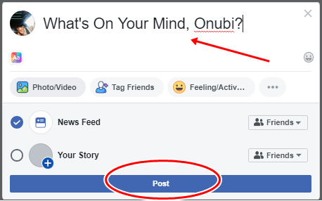How To Share Post On Facebook   FB.com Timeline Post