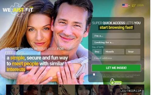wvw.wejustfit.com/registration – We Just Fit Dating Site