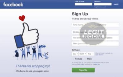 web.facebook.com Registration – Facebook Email Address Sign Up