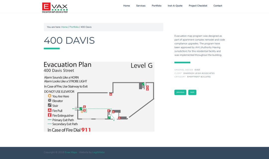Evax 400Davis
