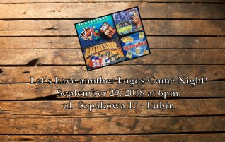Game Night – September 29, 2018 – Logos – Lubin