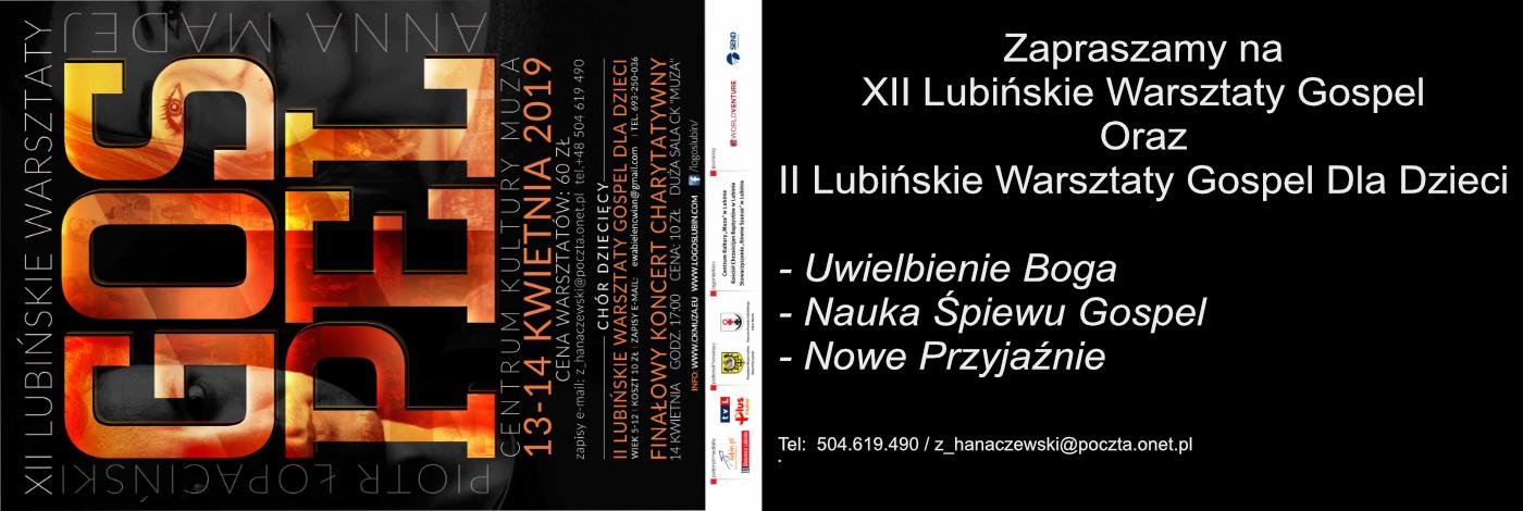 XII Lubińskie Warsztaty Gospel – Lubin