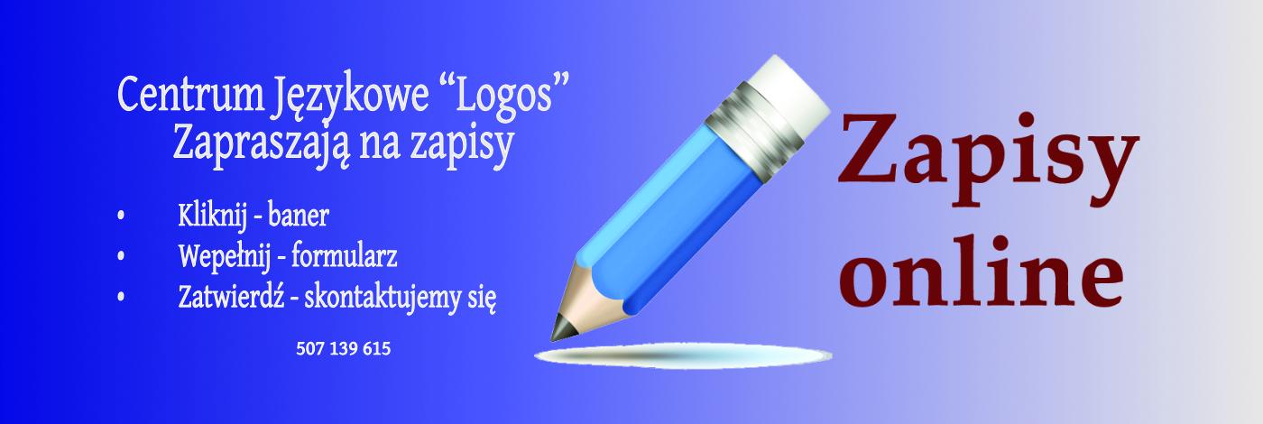 """Zgłoszenie Do Centrum Językowe """"Logos"""""""