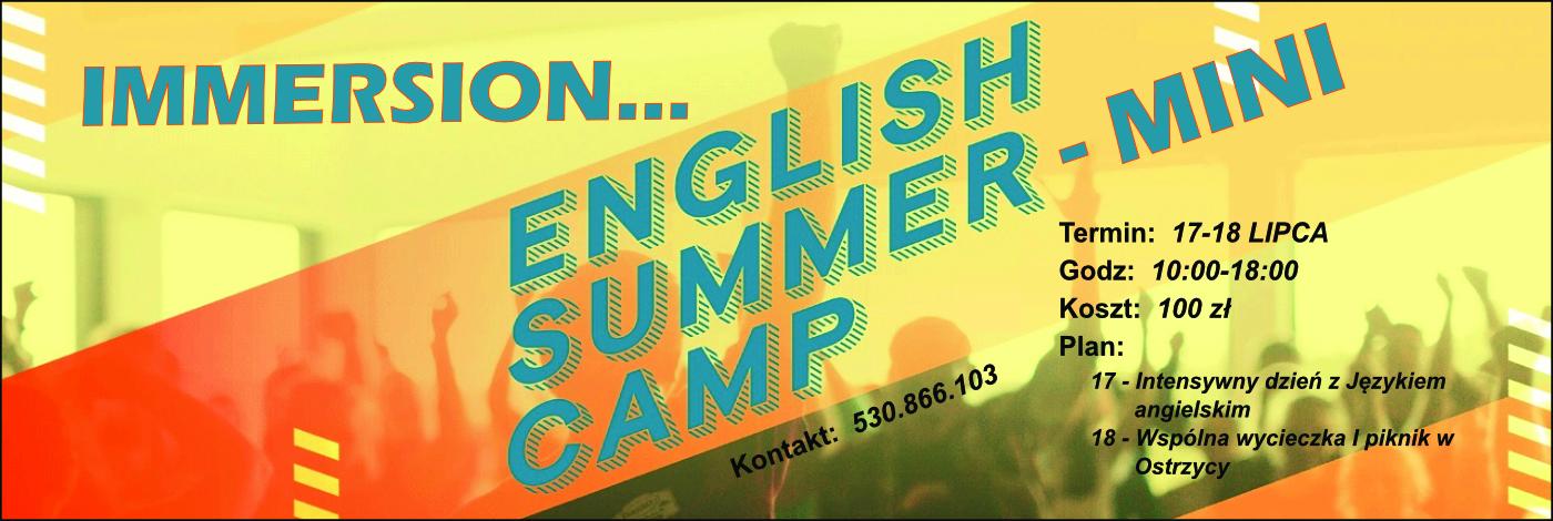 Immersion English Mini Camp 2020 – Lubin