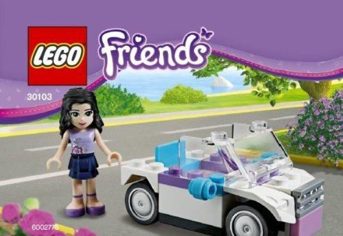 Lego Friends Emma mit dem Auto (30103 im Polybeutel)