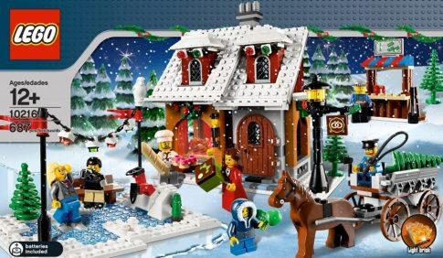 Lego Weihnachtsbäckerei (10216 ab 12 Jahre)