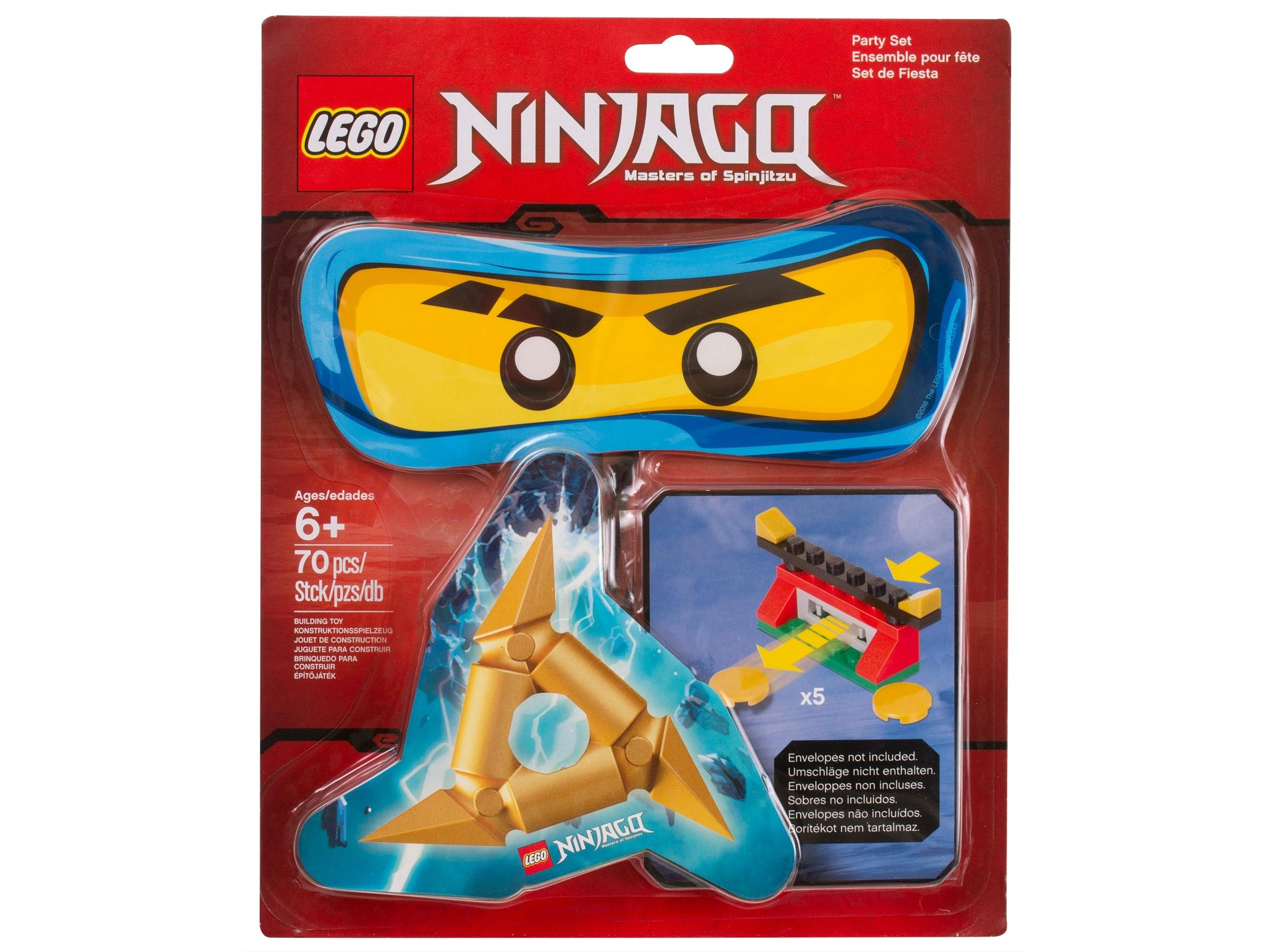 ninjago party set