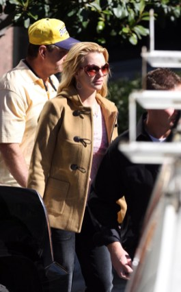 Britney Spears et son papa chez le docteur