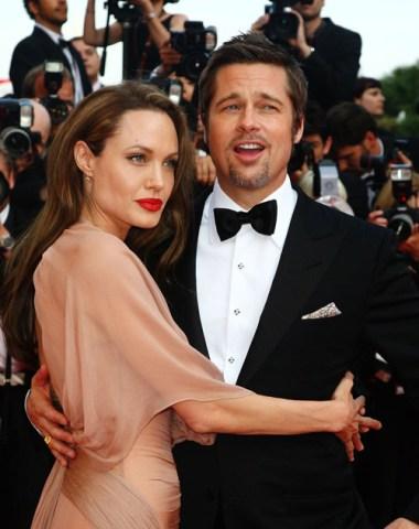 Photos : Angelina Jolie et Brad Pitt deux amoureux à la croisette