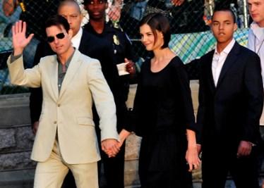 Photos : Tom Cruise et Katie Holmes au Capitol Hill