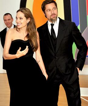 Angelina Jolie - Brad Pitt - Jolie et Pitt affichent leur unité – Photo