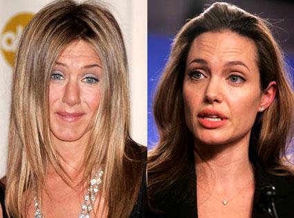 Angelina Jolie - Jennifer Aniston –X