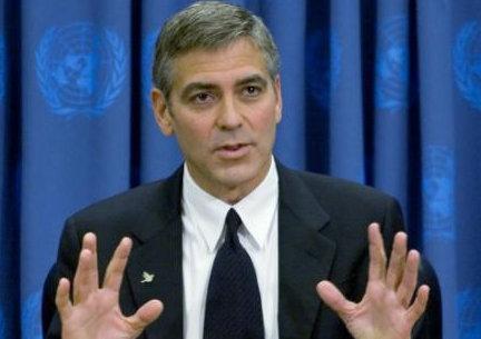George Clooney -Telethon-Haïti