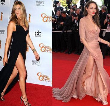 Jennifer Aniston- Angelina Jolie