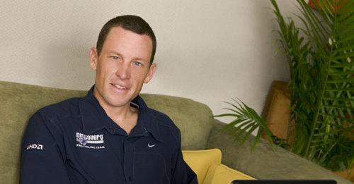 Lance Armstrong -Haïti