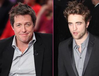 Robert Pattinson –Hugh Grant