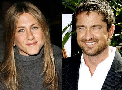 Gerard Butler Jennifer Aniston amis
